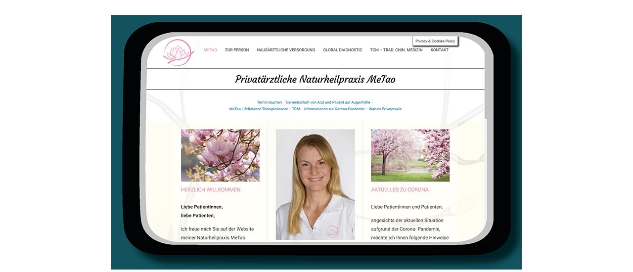Desktopansicht Dr. Magdalena Gameiro